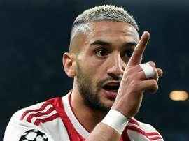 L'Ajax a supprimé la clause de libération de Ziyech ! AFP
