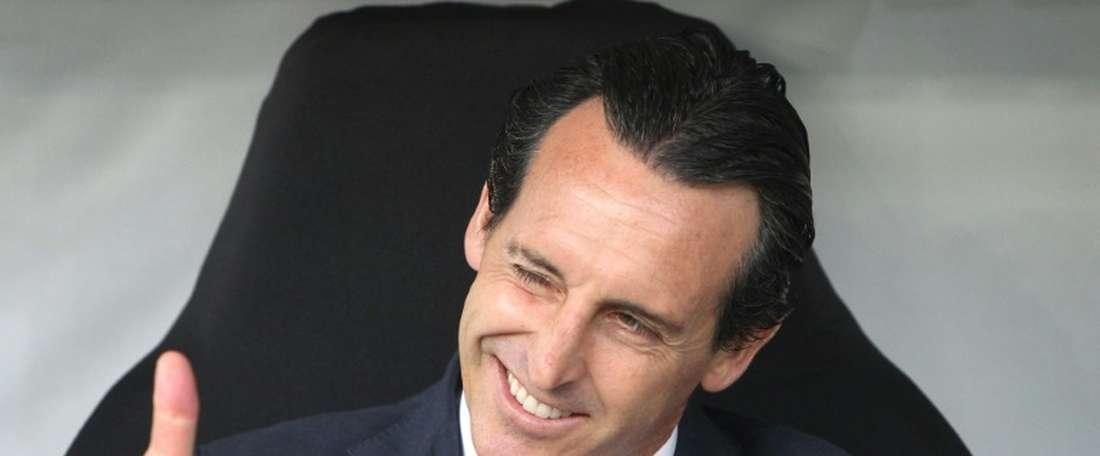 Bukayo Saka criticised Unai Emery's English and the coach agreed. AFP