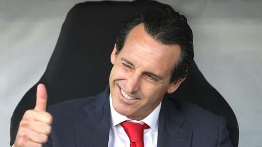 Arsenal are asking Emery to get them to the Champions League. AFP