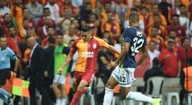 Falcao peligra para el partido contra el Madrid. AFP