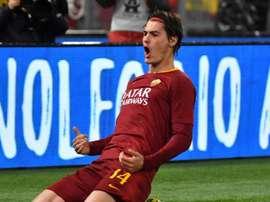 Schick pourrait quitter la Roma cet été. AFP