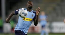 L'attaquant français de Mönchengladbach, Marcus Thuram. AFP