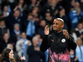 Kompany décline le poste d'adjoint de Guardiola. AFP