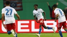 Doutes sur l'identité d'un joueur gambien de Hambourg. AFP