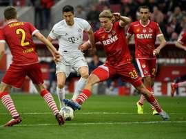 No more Cologne players have got coronavirus. AFP