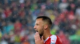 Seferovic jeers 'a pity' - Petkovic. AFP