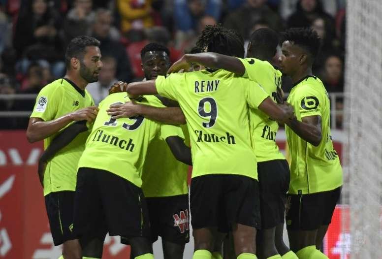 El Lille sigue en un estado de forma espectacular. AFP