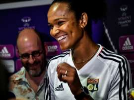 Wendie Renard, une Lyonnaise en or. AFP