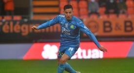 Thauvin acaba contrato con el Marsella en junio de 2021. AFP