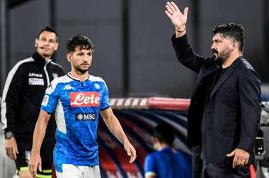 La lista dei convocati del Napoli. AFP