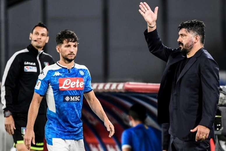 Naples sur sa lancée. AFP