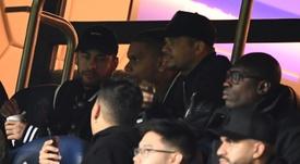 La UEFA expedienta a Neymar por criticar al árbitro del PSG-United. AFP