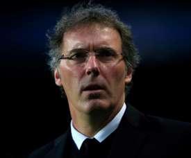 Laurent Blanc, nouvel entraîneur du club qatari d'Al Rayyan. AFP