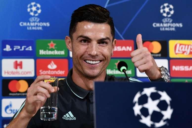 C1: Ronaldo heureux que la Juventus joue un football plus offensif. AFP