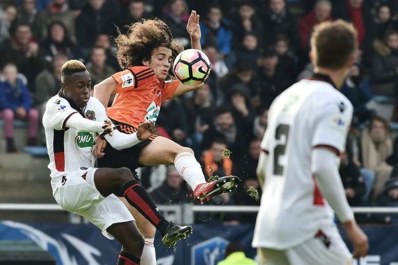 Manchester City and Tottenham are keen on Guendouzi. AFP