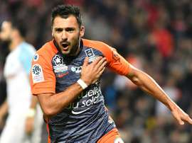 El Montpellier ha hurgado en la herida del Marsella. AFP