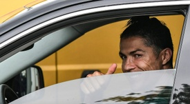 I cinque prediletti di Ronaldo. AFP