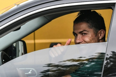 CR7 poderia ter chegado no Milan. AFP