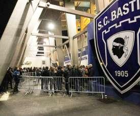 L'ancien gestionnaire du Sporting Club de Bastia réclame près de 700.000 euros au club. AFP