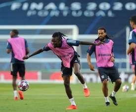 Lyon have rejected a bid for Bertrand Traoré. AFP