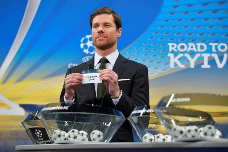 Se alzó campeón de Liga con el Infantil A del Madrid. AFP