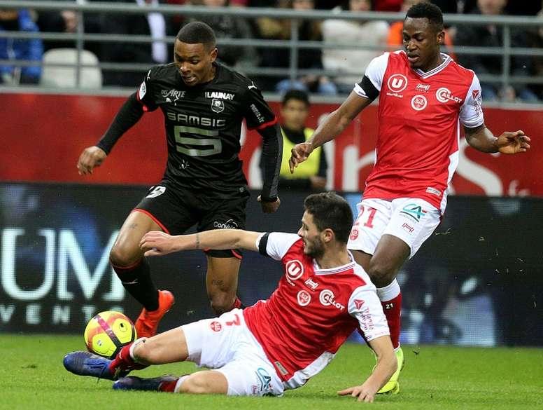 Laurienté retourne à Lorient. AFP