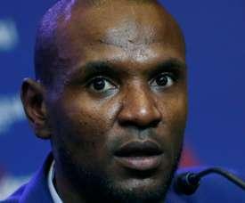 Abidal ne cache pas l'envie du club. AFP