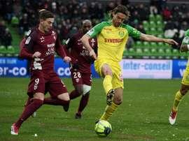 Nantes recrute définitivement Krhin. AFP