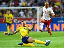 Braithwaite has asked to move to Spain. AFP
