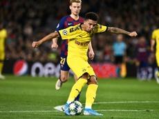 Sancho sanctionné contre Barcelone pour indiscipline. AFP