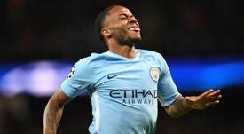 Sterling deve ficar em Manchester. AFP