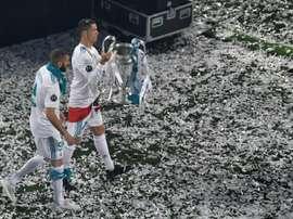 Jogos da primeira mão dos oitavos da Champions League. AFP