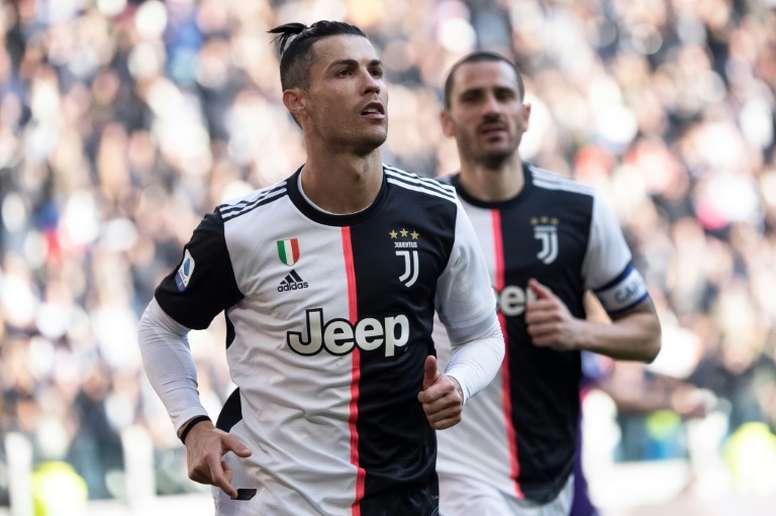 Les compos probables du match de Serie A entre l'Hellas Vérone et la Juventus. AFP