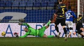 La règle de l'ex fait mal à l'Inter. AFP