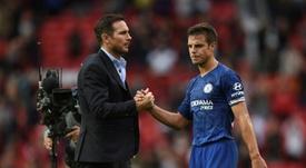 Les compos probables du match de Premier League entre Chelsea et Manchester United. AFP