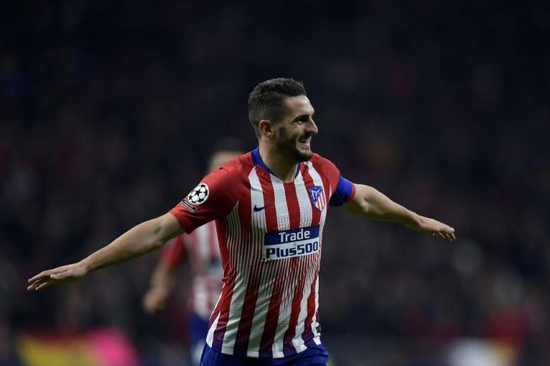 Koke, el incansable. AFP