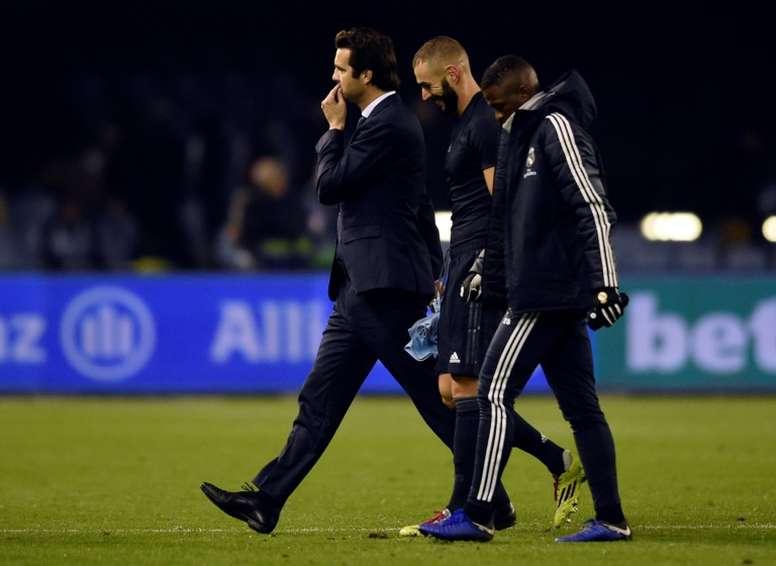 Benzema y Vinicius, intocables. AFP