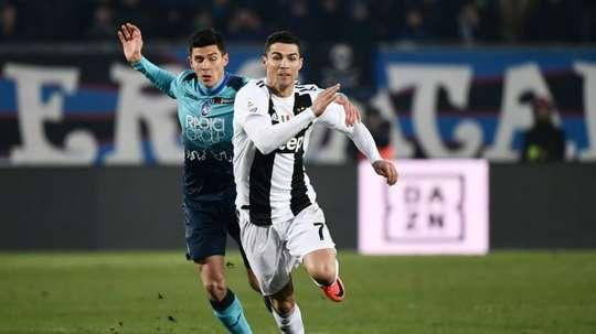 Juventus - Atalanta: onzes iniciais confirmados. AFP