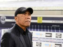 L'entraîneur de Dijon Antoine Kombouaré. AFP