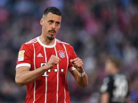 Sandro Wagner a fait l'éloge de Cristiano. AFP