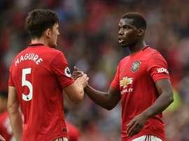 Les compos probables du match de Premier League entre Wolverhampton et Man United. AFP