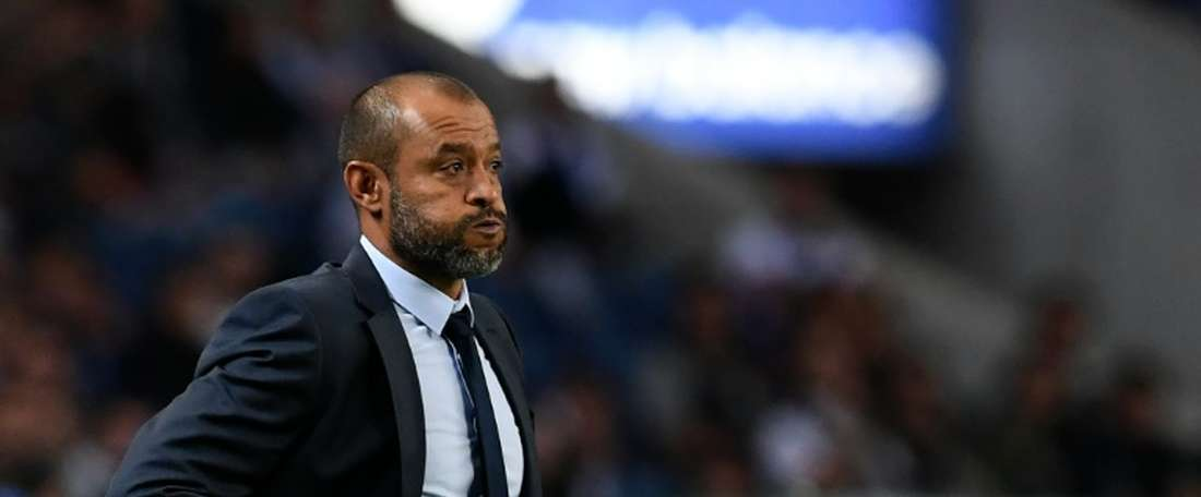 Nuno was happy with his side's battling performance against Sheffield Wednesday. AFP
