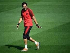 Buffon jugará. AFP/Archivo