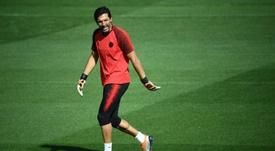 Le gardien italien du Paris SG Gianluigi Buffon. AFP