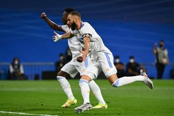 Le Real renverse le Celta grâce à Benzema et Vinicius. afp