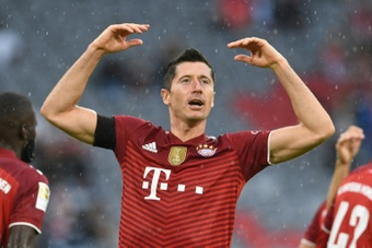 Lewandowski quiere salir del Bayern de Múnich. AFP