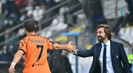 Le groupe de la Juventus pour affronter Ferencvàros. AFP