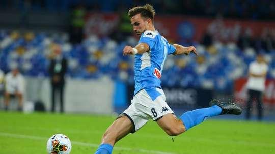 Fabian Ruiz positivo al tampone. AFP