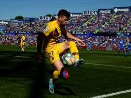 Lo dejó escapar el Barça y busca triunfar en la Roma. AFP