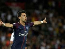 Javier Pastore vers le Brésil ? AFP